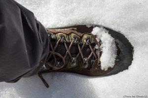 Test chaussures de randonnée LOWA Ticam II GTX dans la neige