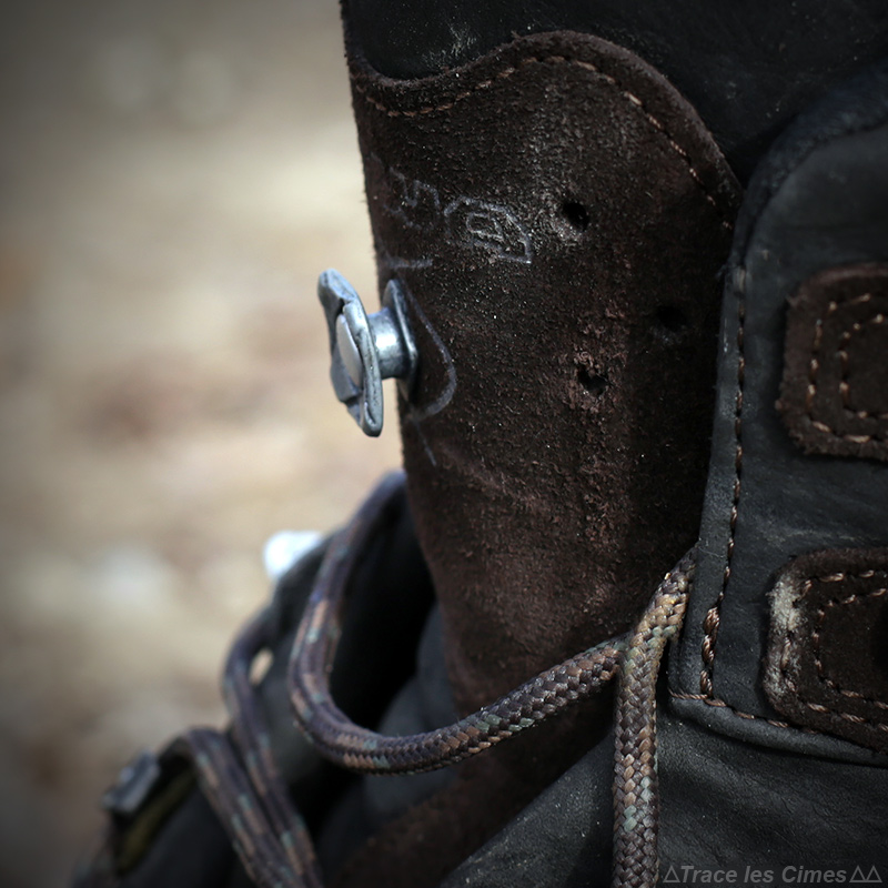 Test chaussures de randonnée LOWA Ticam II GTX système X-Lacing lacets languette