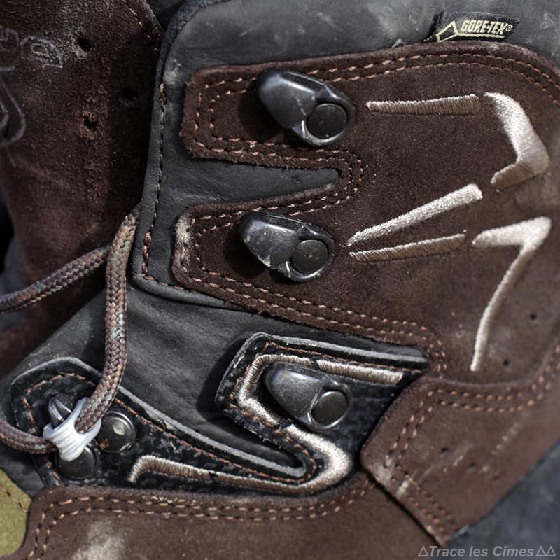 Test chaussures de randonnée LOWA Ticam II GTX tige haute