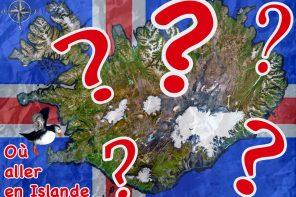 Carte Islande destinations voyage