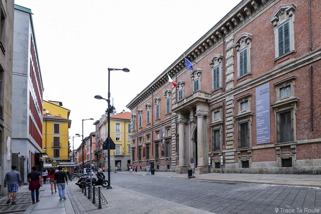 Bâtiment du Palazzo di Brera de Milan - Via Brera, Milano