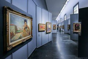 Salle exposition Donation Jesi - Pinacothèque de Brera de Milan - Umberto BOCCIONI