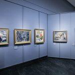 Salle exposition Donation Jesi - Pinacothèque de Brera de Milan - Gino SEVERINI
