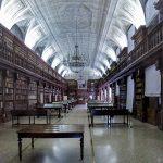 Bibliothèque Nationale Braidense dans le Palazzo di Brera de Milan