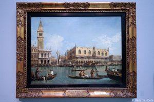 """Vue de Saint-Marc"" (1740-1745) CANALETTO - Pinacothèque de Brera, Milan"