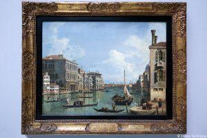 """Vue du Grand Canal"" (1740-1745) CANALETTO - Pinacothèque de Brera, Milan"