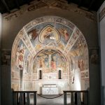 Fresque dans la chapelle du Palazzo di Brera de Milan