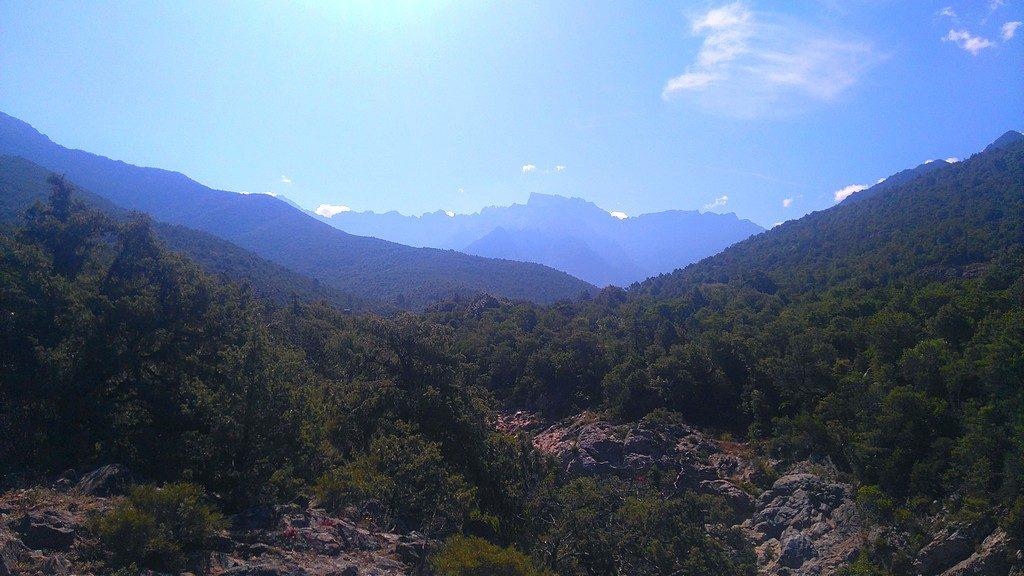 Sur le chemin Mare e Monti, randonnée Corse, de Tuarelli à Galeria