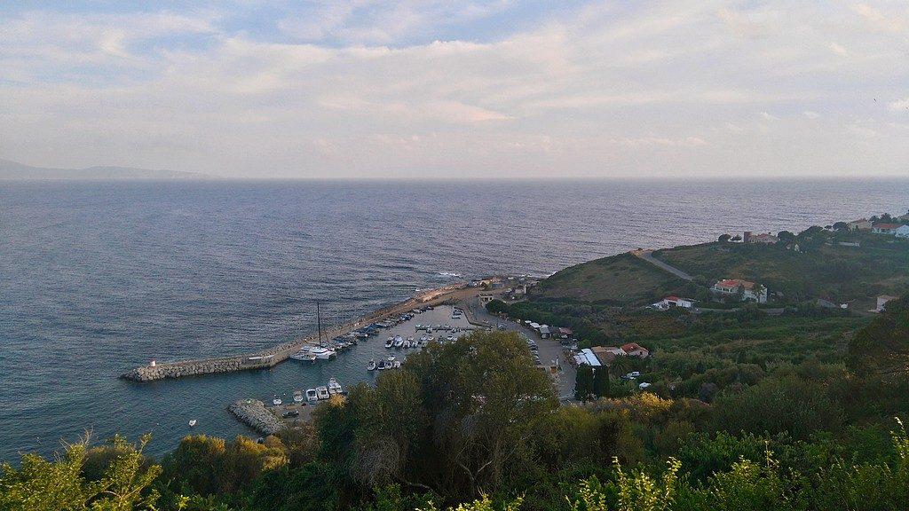 Le Port de Cargèse en Corse