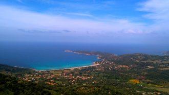 Point de vue pendant la Randonnée du Mare e Monti en Corse, lors de la dernière étape qui va de E Case - Revinda à Cargèse