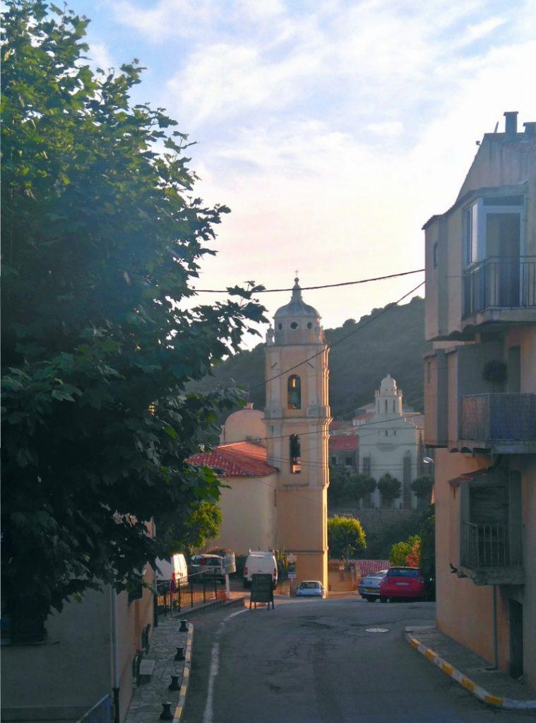Arrivée à Cargèse, Randonnée Mare E Monti, Corse, vue sur les 2 églises