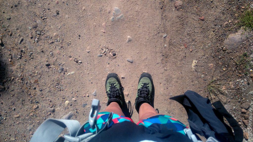 Equipement pour la randonnée du Mare E Monti Nord en Corse de Calenzana à Cargèse, chaussure Meindl