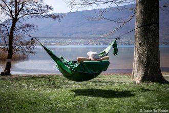 Test du hamac Draumr 3.0 Amok Review - Lac du Bourget, Plage de Lido, Tresserve, Aix-les-Bains