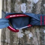 Mousqueton sangle accrochage du hamac Draumr 3.0 Amok Test Review