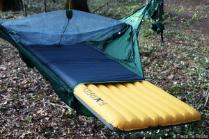 Test montage du hamac Draumr 3.0 Amok Review Matelas Exped SynMat UL sleeping pad