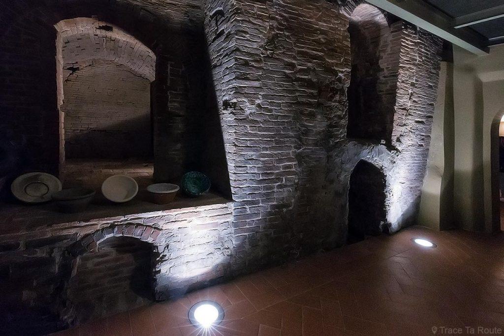 Anciens fours du Musée de la Céramique de Calcinaia, Valdera (Pise, Toscane, Italie) Museo della Ceramica Lodovico Coccapani