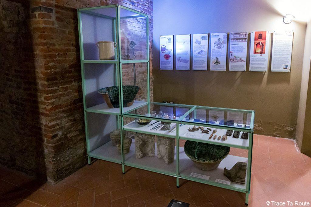 Visite Musée de la Céramique de Calcinaia, Valdera (Pise, Toscane, Italie) Museo della Ceramica Lodovico Coccapani