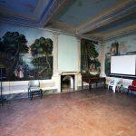 Fresques intérieur Villa Baciocchi, musée zoologique Capannoli (Valdera, Toscane, Italie)