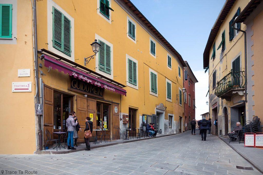La Bottega delle Specialità, ruelle via Armando Diaz, Lari - Valdera, Toscane, Italie
