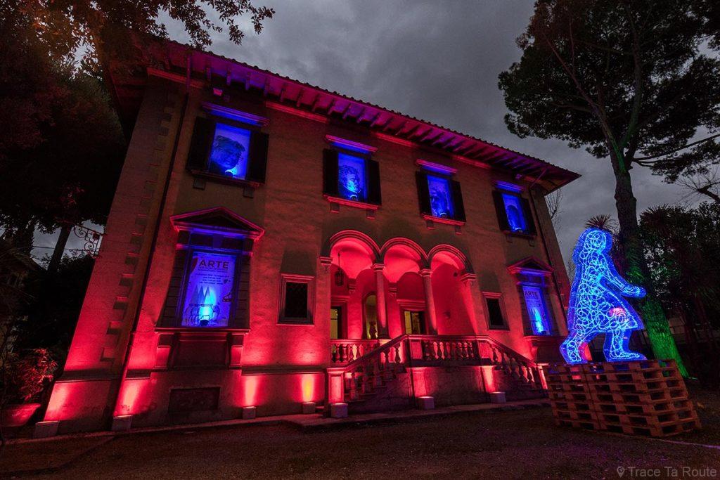 Villa Crastan, Centre d'Art Contemporain à Pontedera, Valdera (Toscane, Italie)