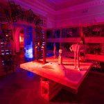 "Exposition ""Arte non per dormire"" (2017) Villa Crastan, Centre d'Art Contemporain à Pontedera, Valdera (Toscane, Italie)"