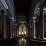 Intérieur Nef de l'église Duomo de Pontedera (Valdera, Toscane, Italie)