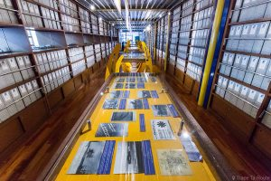 Museo Piaggio Pontedera (Pisa, Valdera, Toscana, Italie) Histoire de l'usine - Musée Piaggio à Pontedera