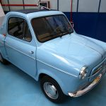 Automobile Vespa 400 - Museo Piaggio Pontedera (Pisa, Valdera, Toscana, Italie) Musée Piaggio à Pontedera