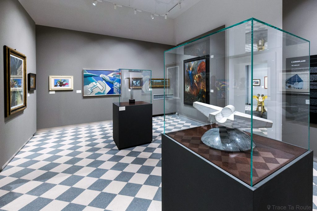 Visite exposition Tutti in moto ! (2017) Musée Palazzo Pretorio à Pontedera (Valdera, Toscane, Italie)