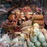Gastronomie Toscane, Italie - Boucherie Charcuterie italienne Macelleria Ceccotti, Lari (Valdera)