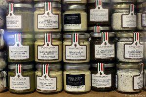 Produits gastronomiques à la Truffe - Savini Tartuffi Forcoli, Palaia (Valdera, Toscane, Italie)