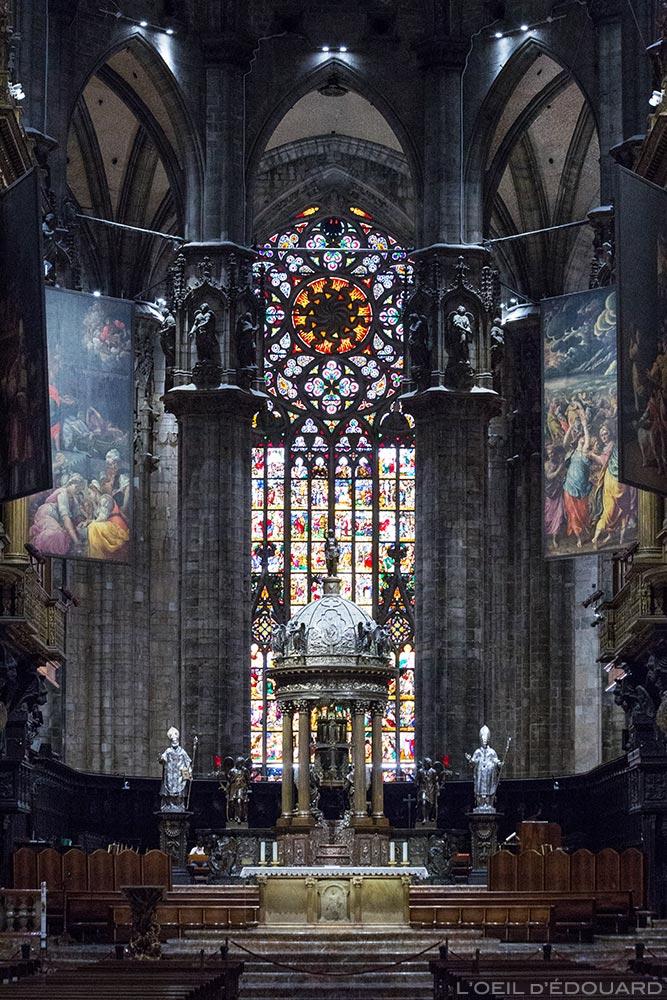 Cathédrale du Duomo de Milan - Autel Duomo di Milano © L'Oeil d'Édouard