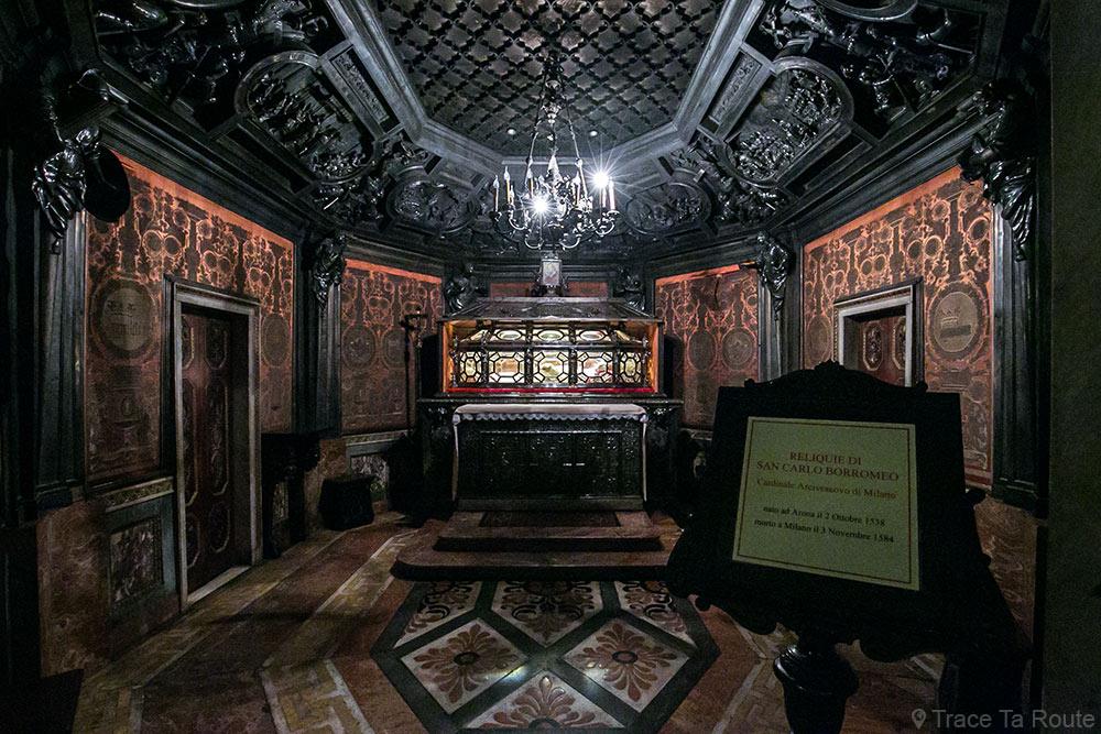Cathédrale du Duomo de Milan - Crypte relique corps San Carlo Borromeo - Duomo di Milano