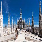 Toit Terrasse au sommet de la Cathédrale de Milan - Duomo di Milan