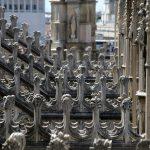 Terrasse Cathédrale du Duomo de Milan - Motifs Architecture Gothique - Duomo di Milano