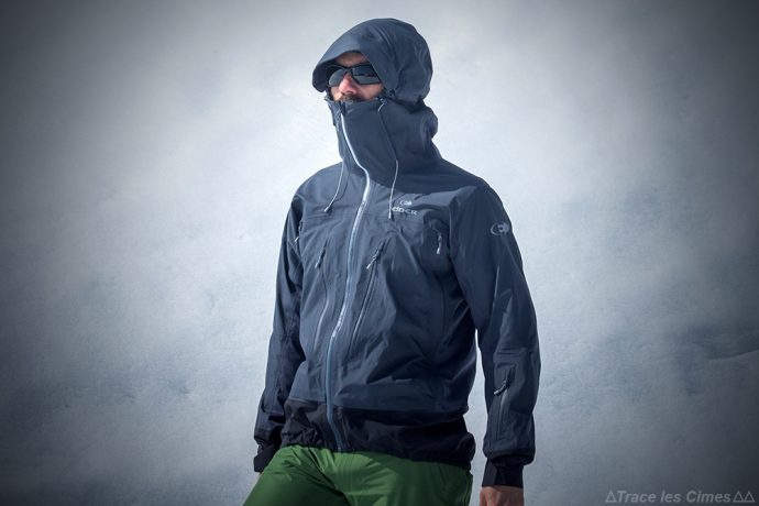 test veste gore tex eider commodore active taill e pour le ski blog outdoor trace les cimes. Black Bedroom Furniture Sets. Home Design Ideas