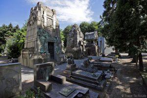 Tombes et mausolées - Cimetière Monumental de Milan