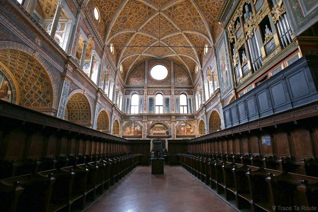 Intérieur du couvent de l'Eglise Saint-Maurice de Milan - Chiesa di San Maurizio al Monastero Maggiore di Milano