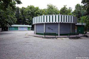 Attractions carrousel Parc Giardini Pubblici Indro Montanelli de Milan