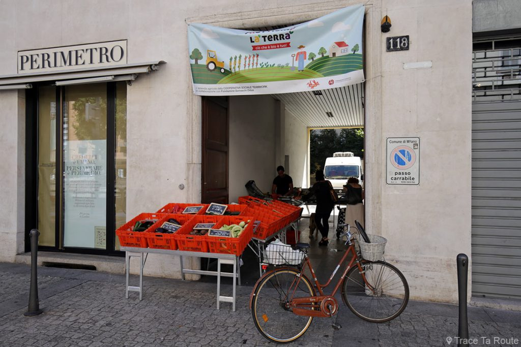 Fruttiamo la terra - Fondazione Somaschi - Marche fruits et légumes bio Milan