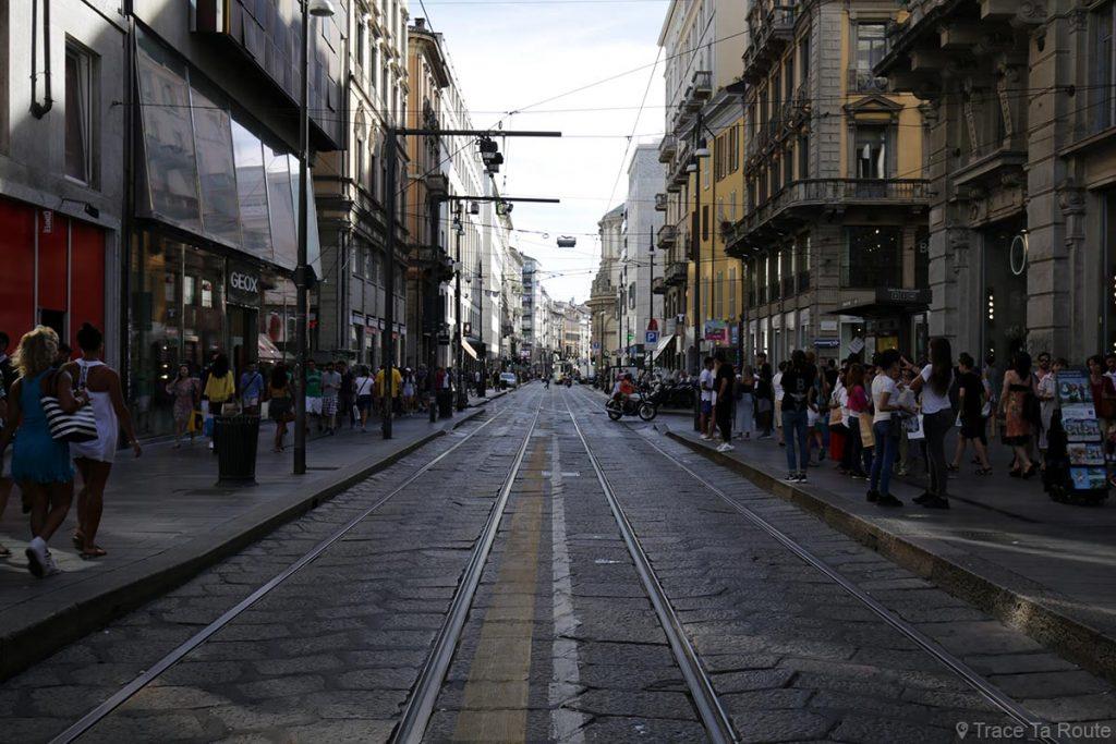 Rue de Milan : Via Torino, Milano