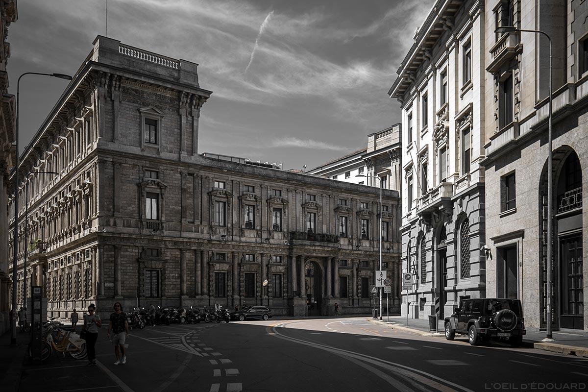 Palazzo Marino, Largo Raffaele Mattioli, Milano © L'Oeil d'Édouard