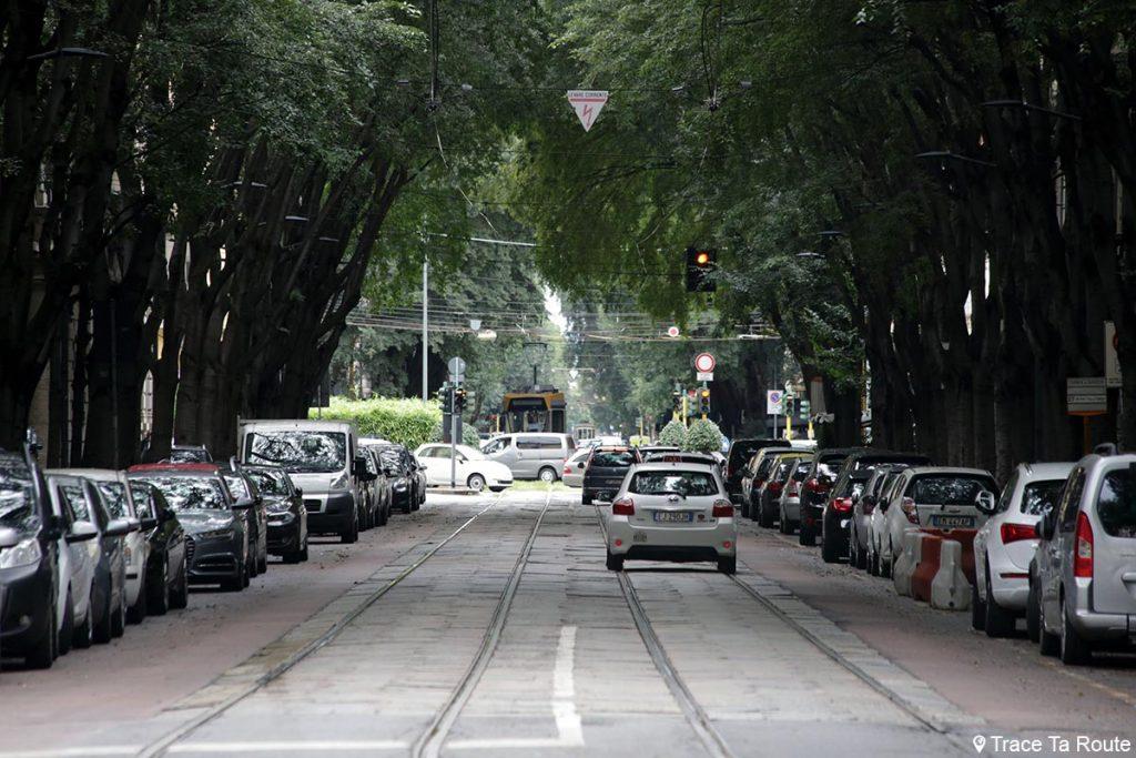 Rue Via Vincenzo Monti, Milano