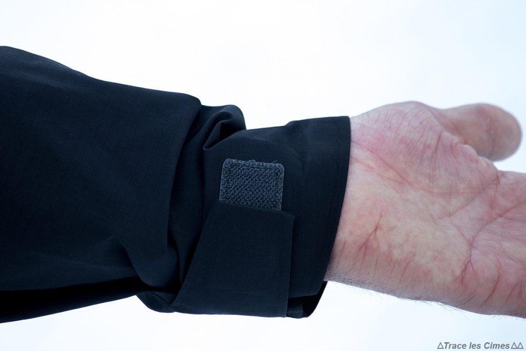 Test Veste Gore-Tex TROLLVEGGEN NORRØNA review : scratch poignet