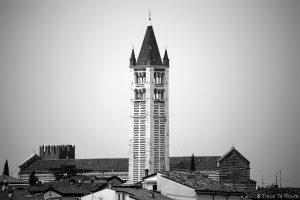 Campanile Basilique San Zeno de Vérone - Basilica San Zeno Maggiore di Verona