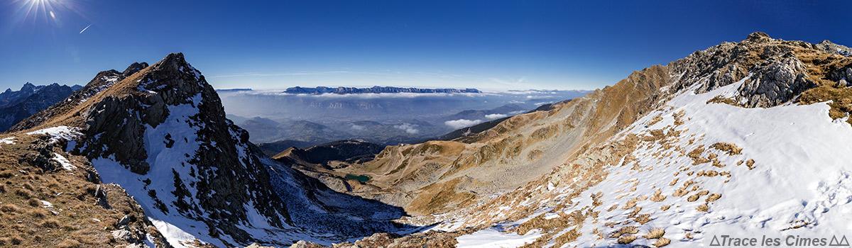 Vue depuis le Col de la Jasse, Belledonne