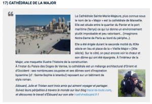 Dreamlines Croisière Voyage Marseille Cathédrale La Major - Blog Trace Ta Route