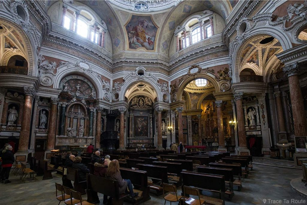 Intérieur Nef Église Saint-Laurent Turin - Chiesa di San Lorenzo Torino