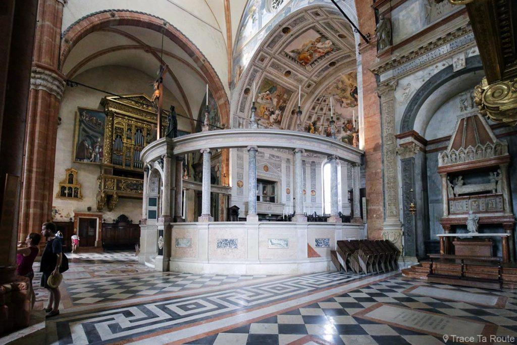 Intérieur Abside Cathédrale Santa Maria Matricolare de Vérone - Duomo di Verona
