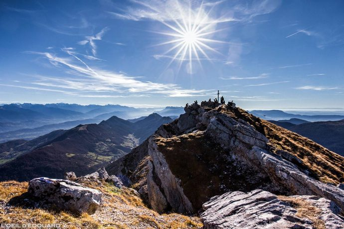 Sommet du Mont Colombier, Massif des Bauges Savoie © L'Oeil d'Édouard